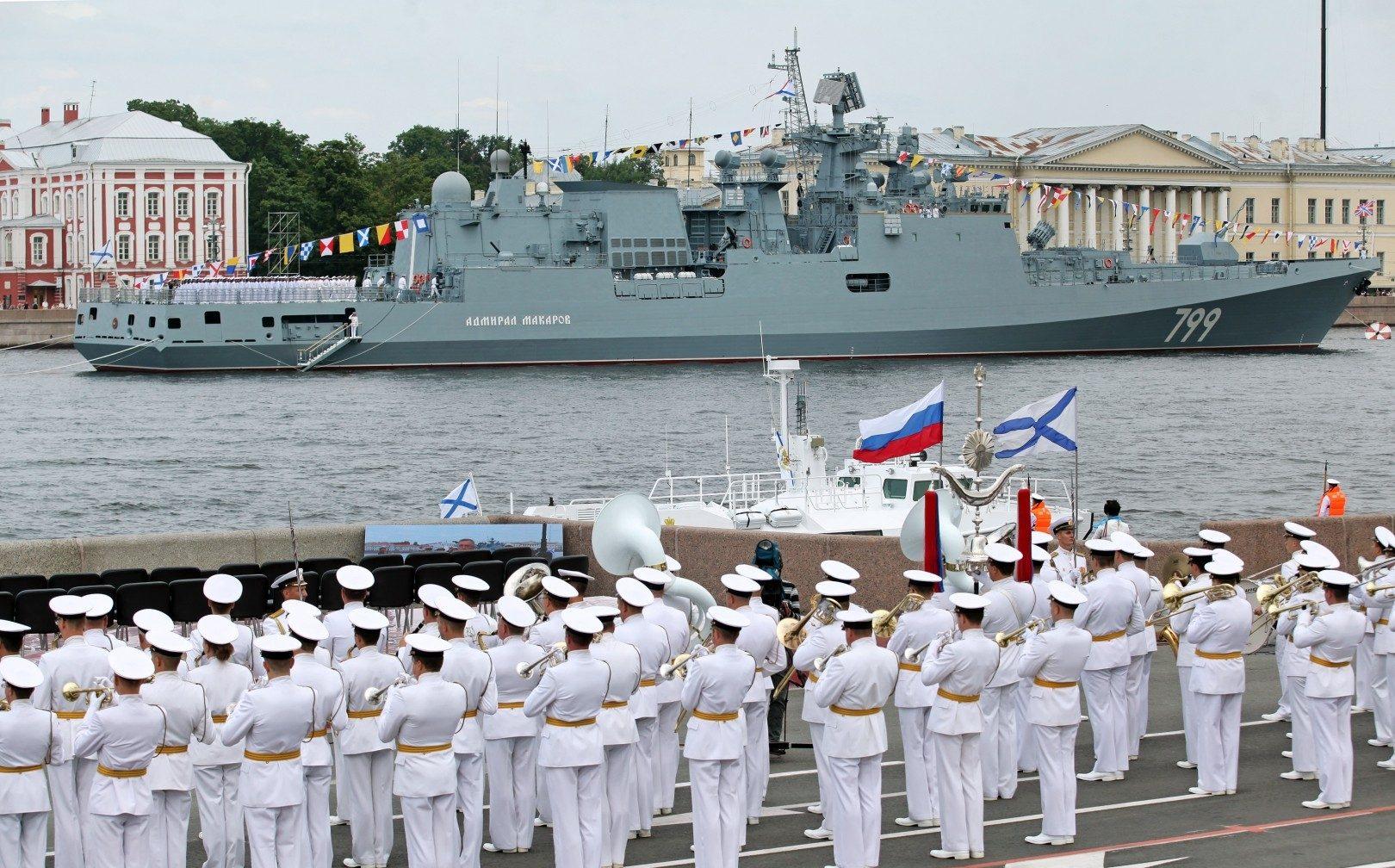 История праздника - день военно-морского флота России