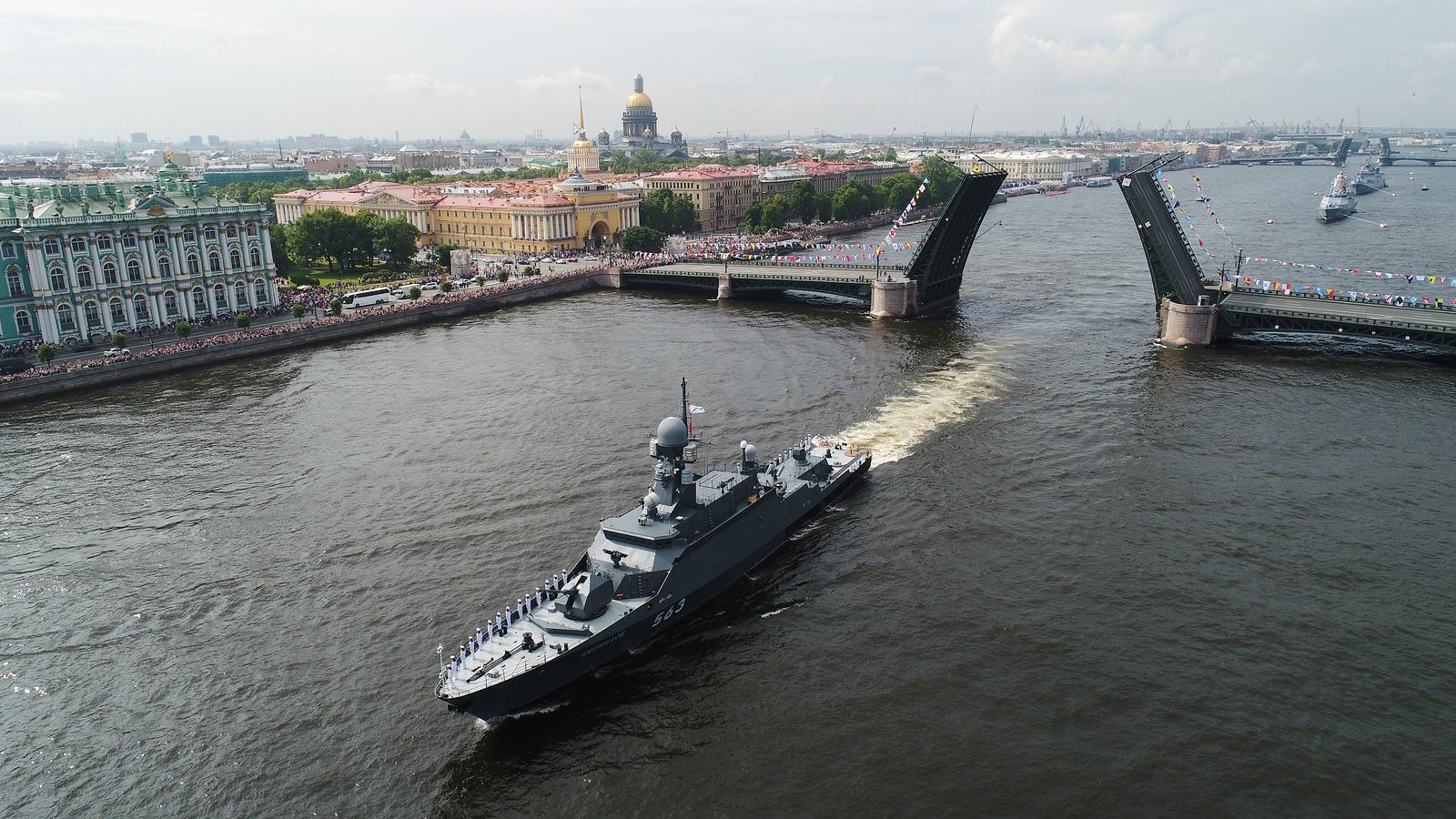 Программа праздника ВМФ России в 2021 года в Санкт-Петербурге