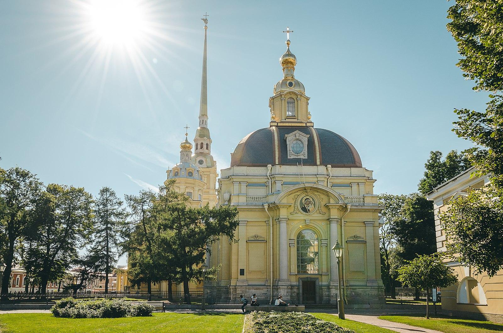 Великокняжеская усыпальница Петропавловского собора